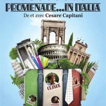 Affiche Promenade in Italia